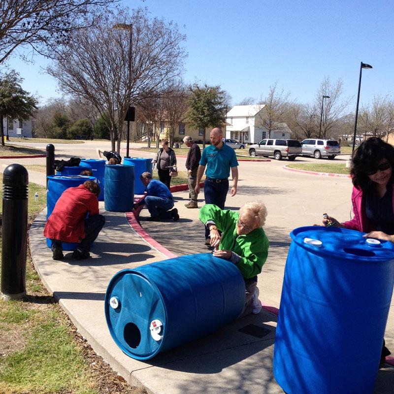 Saving from a Rainy Day - DIY Rain Barrel Program